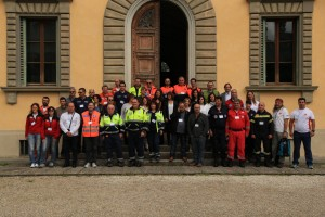 Participants of the International Volunteers' Meeting at the headquarters of Centro Studi Villa Montesca